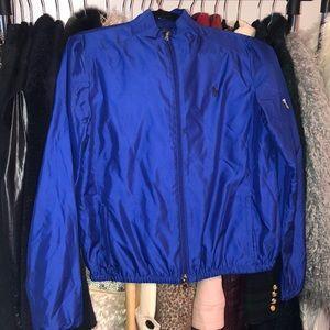Ralph Lauren Golf blue windbreaker jacket